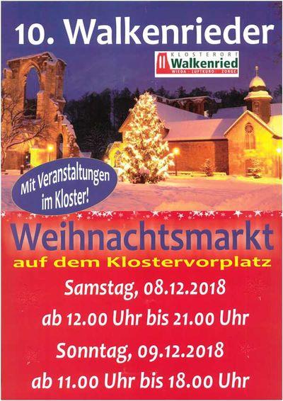 Weihnachtsmarkt Kloster und Museum Walkenried 2018